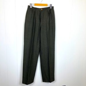 Rare Vintage Christian Dior Wool Trousers Sz 28